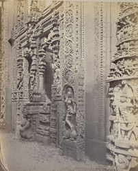Tarputry [Tadpatri]. Temple in ruins near the river. Entrance to the temple on the north side